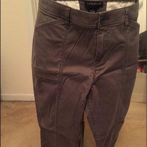 Soft grey utility skinny leg pant size 20